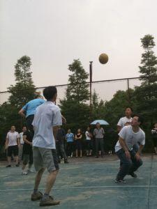 图信公司 首届气排球比赛